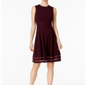 Calvin Klein fit and flare dress size 2.